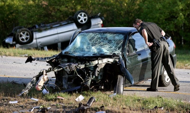 Car Wrecks involving Death or Serious Injury