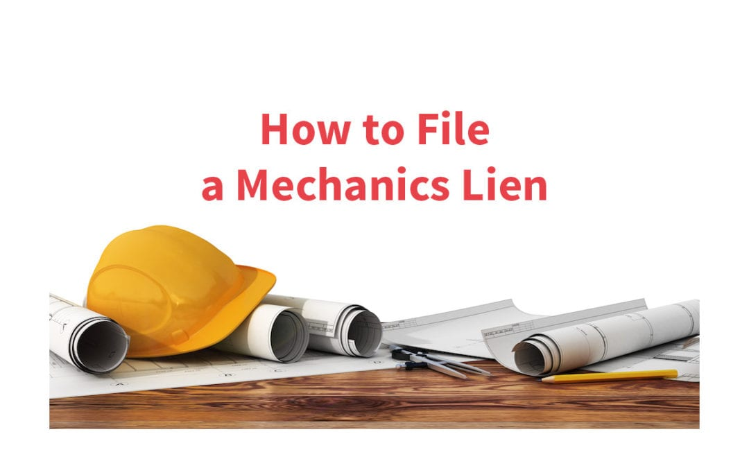 How to file a Mechanic's Lien in Oklahoma
